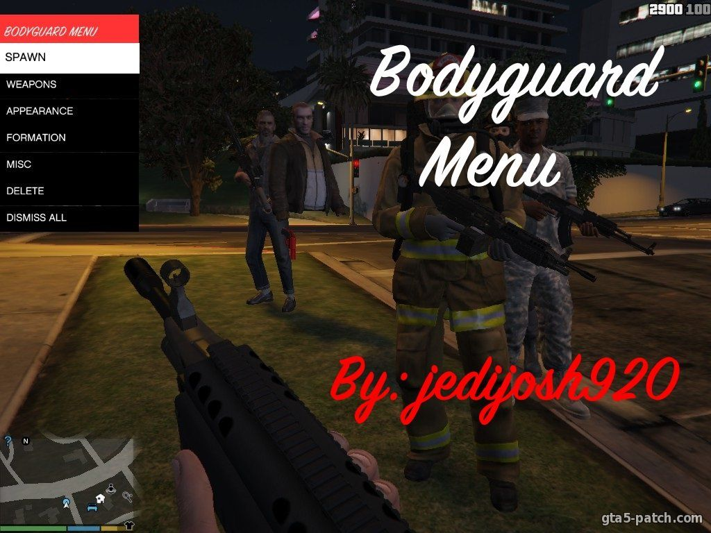 Bodyguard Menu 1.2