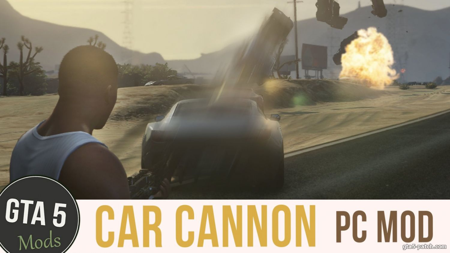 Vehicle Cannon Mod 1.0