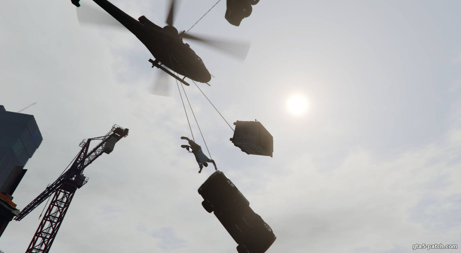 Крюк из Just Cause 2 (Grappling hook) 1.3.4