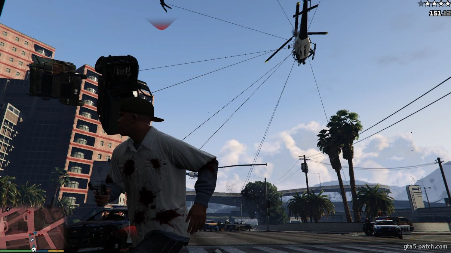 Крюк из Just Cause 2 (Grappling hook) 1.3.2
